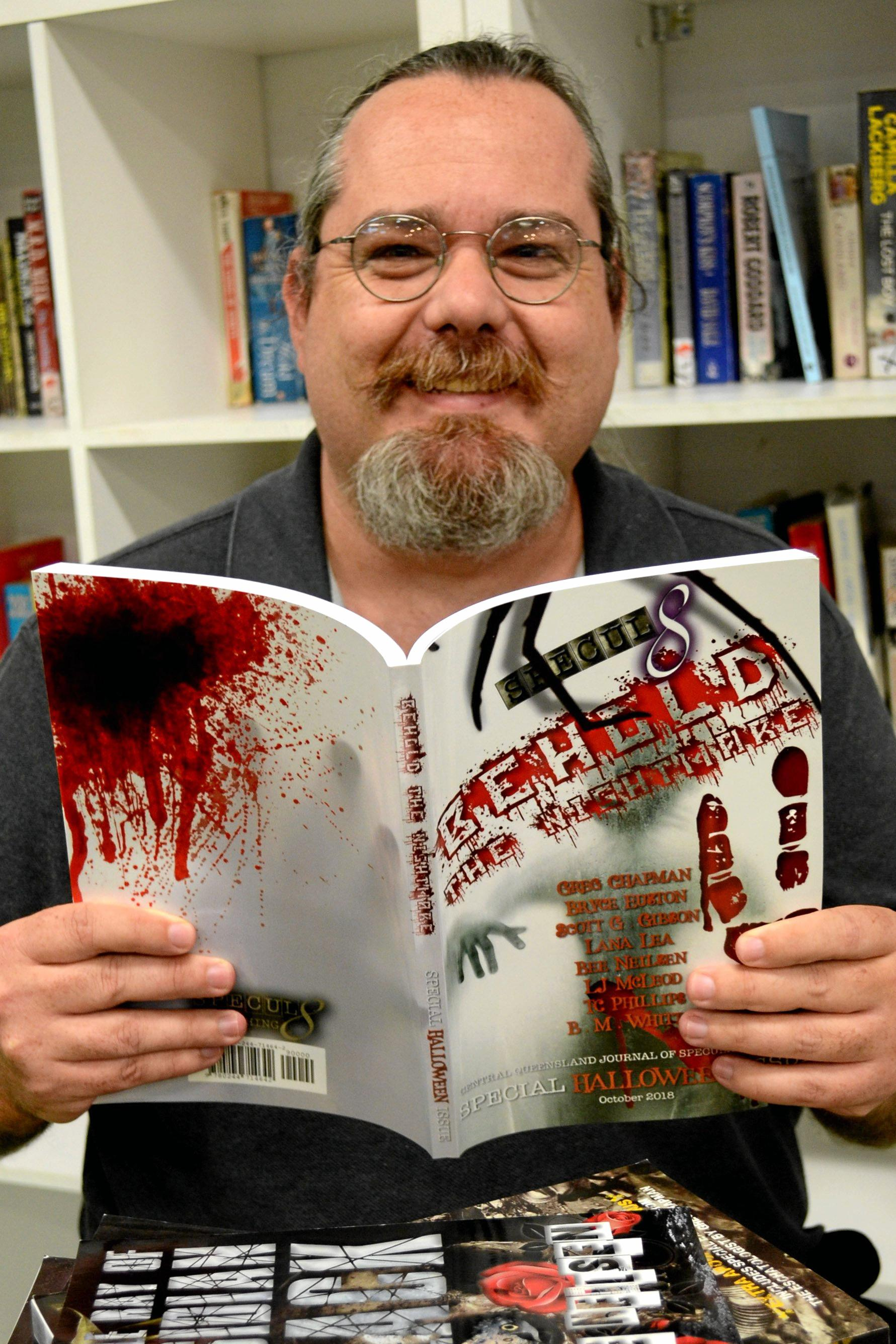 HORROR READ: Terry Phillips speculates on his adventures in self-publishing.