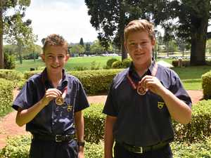 Grammar duo steps up to national level