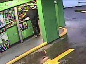 Police release CCTV of drive-through armed robbery