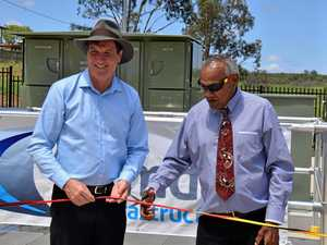 $15 million Cherbourg wastewater treatment plant opens