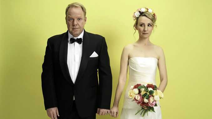 Pete Helliar and Lisa McCune return as Greg and Em in How To Stay Married.