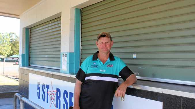PRIDE: Biloela Panthers Rugby League Football Club president Pat Barron needs support from the community to keep the club flourishing.