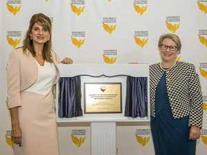 Royal visits USQ Springfield to launch new research centre