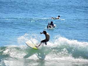Ups and downs of surfing continues with mixed bag of weather