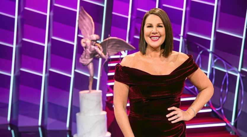 Julia Morris hosts the TV series Blind Date.