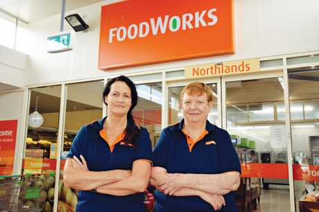 Foodworks Northlands owners Lindy Baker and Debbie Smith are closing up shop this Sunday.