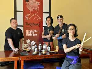 Restaurant lends helping hand to Toowoomba's sister city