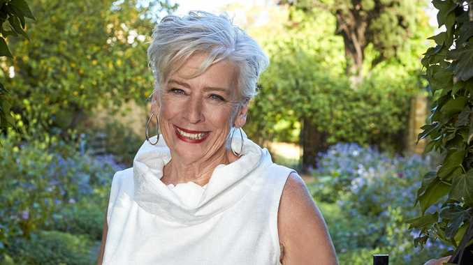Maggie Beer pictured at Cruden Farm, where she found inspiration for several dishes in the TV series Inside Dame Elisabeth's Garden.