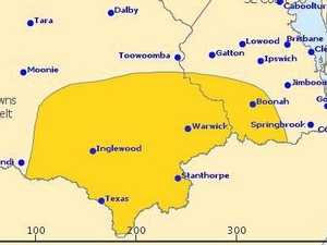 WARNING: Severe storms to hit Warwick