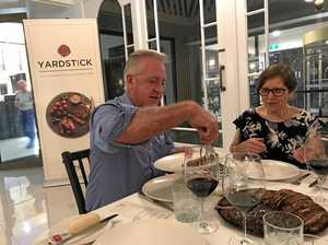 Intimate dinner raises steaks for premium beef