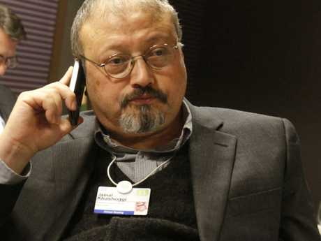 Mystery still surrounds the murder of Saudi Arabian journalist Jamal Khashoggi. Picture: AP Photo/Virginia Mayo, File