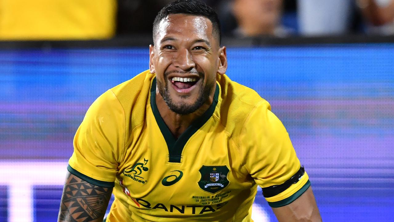 "Israel Folau ""enjoyed"" the controversy that followed his comments about gay people."