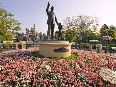 Many guests are breaking rules by sneaking in their loved ones' remains. Picture: Paul Hiffmeyer/Disneyland