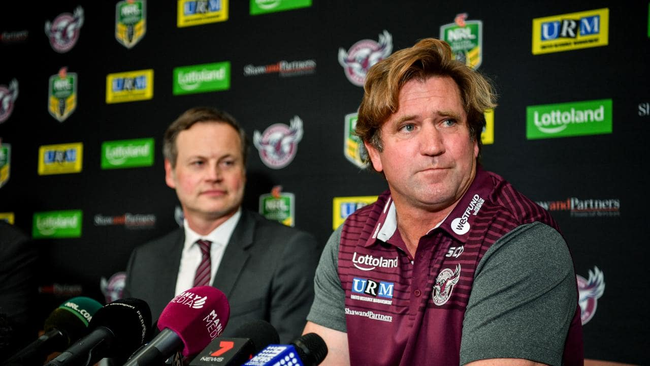 Des Hasler will face his old club Canterbury in round eight. Picture: Brendan Esposito/AAP