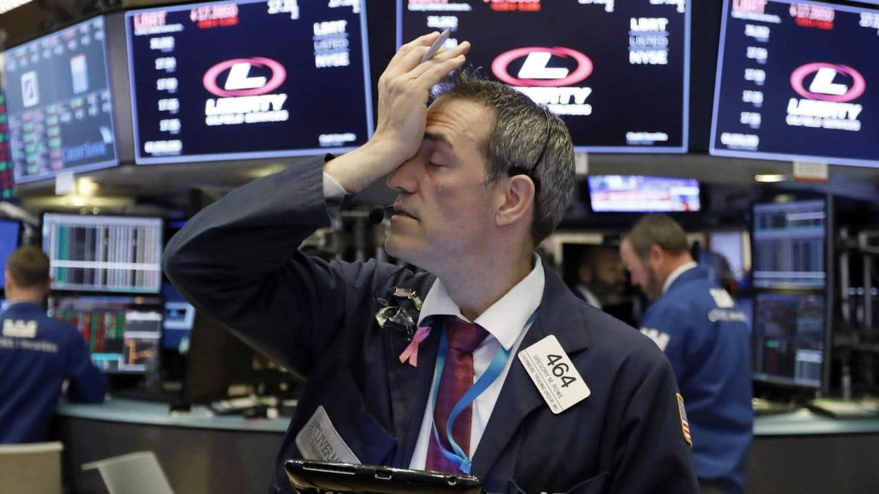 'Investors are on pins and needles.' Picture: Richard Drew/AP
