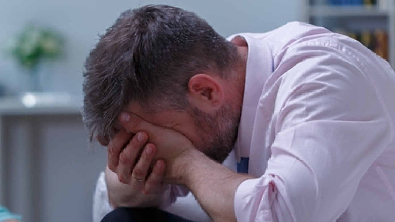 Research shows Australian men feel crying in front of someone, especially a woman, is shameful.