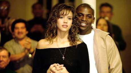 Jessica Alba and Mekhi Phifer in the 2004 film Honey.