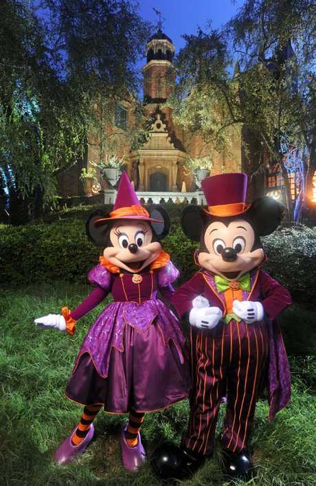 The Haunted Mansion just got a whole lot scarier. Picture: Kent Phillips/Disney