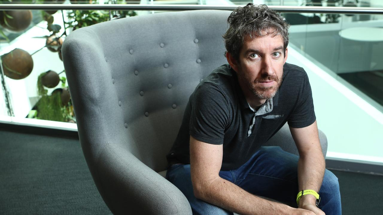 Atlassian CEO Scott Farquhar has topped the list alongside co-founder Mike Cannon-Brookes. Picture: Hollie Adams/The Australian