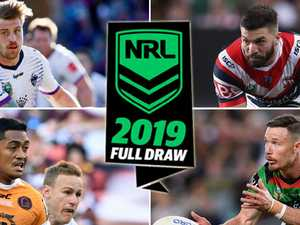 NRL draw for 2019 released in full