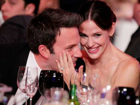 Ben Affleck and Jennifer Garner in happier times during their marriage at the 16th annual Critics' Choice Movie Awards at the Hollywood Palladium on January 14, 2011. Picture: Christopher Polk/Getty Images for VH1