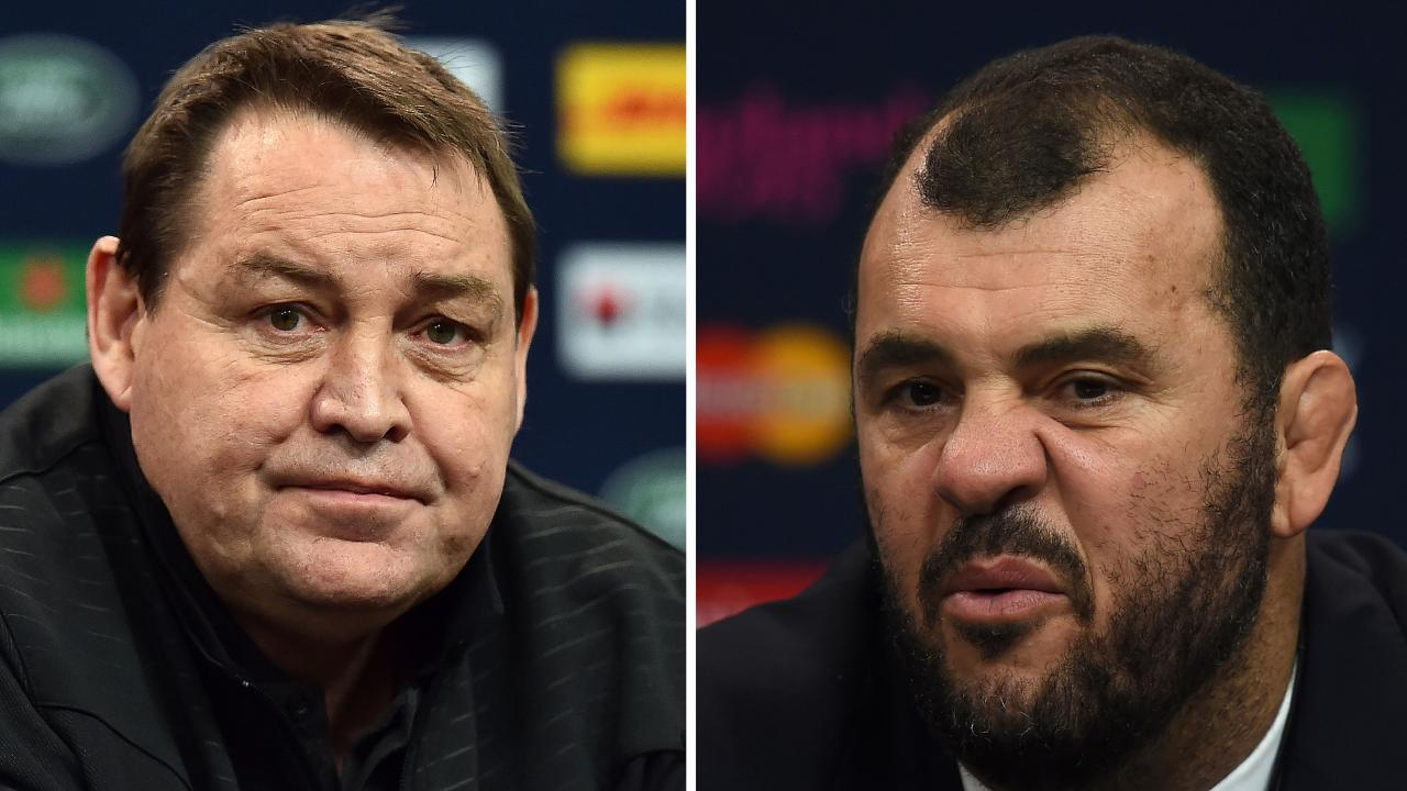 All Blacks coach Steve Hansen has gone into bat for Wallabies rival Michael Cheika.