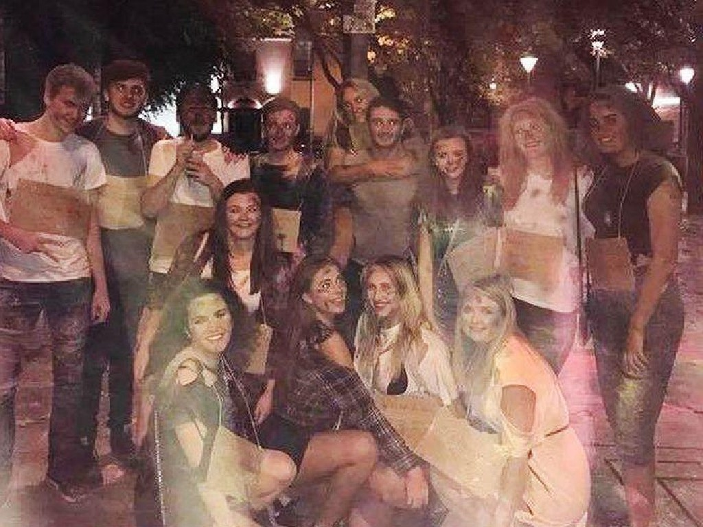 The student society has since apologised. Picture: Instagram