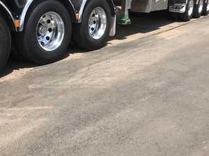 Nolan's Transport QTM Truck