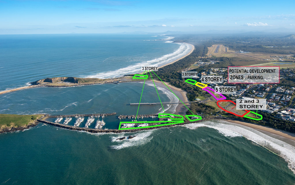 montage jetty foreshoes plan. 26 OCT 2018
