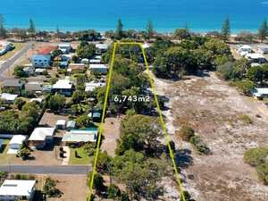 STUNNING: Beachfront property a developer's dream at $1.49m