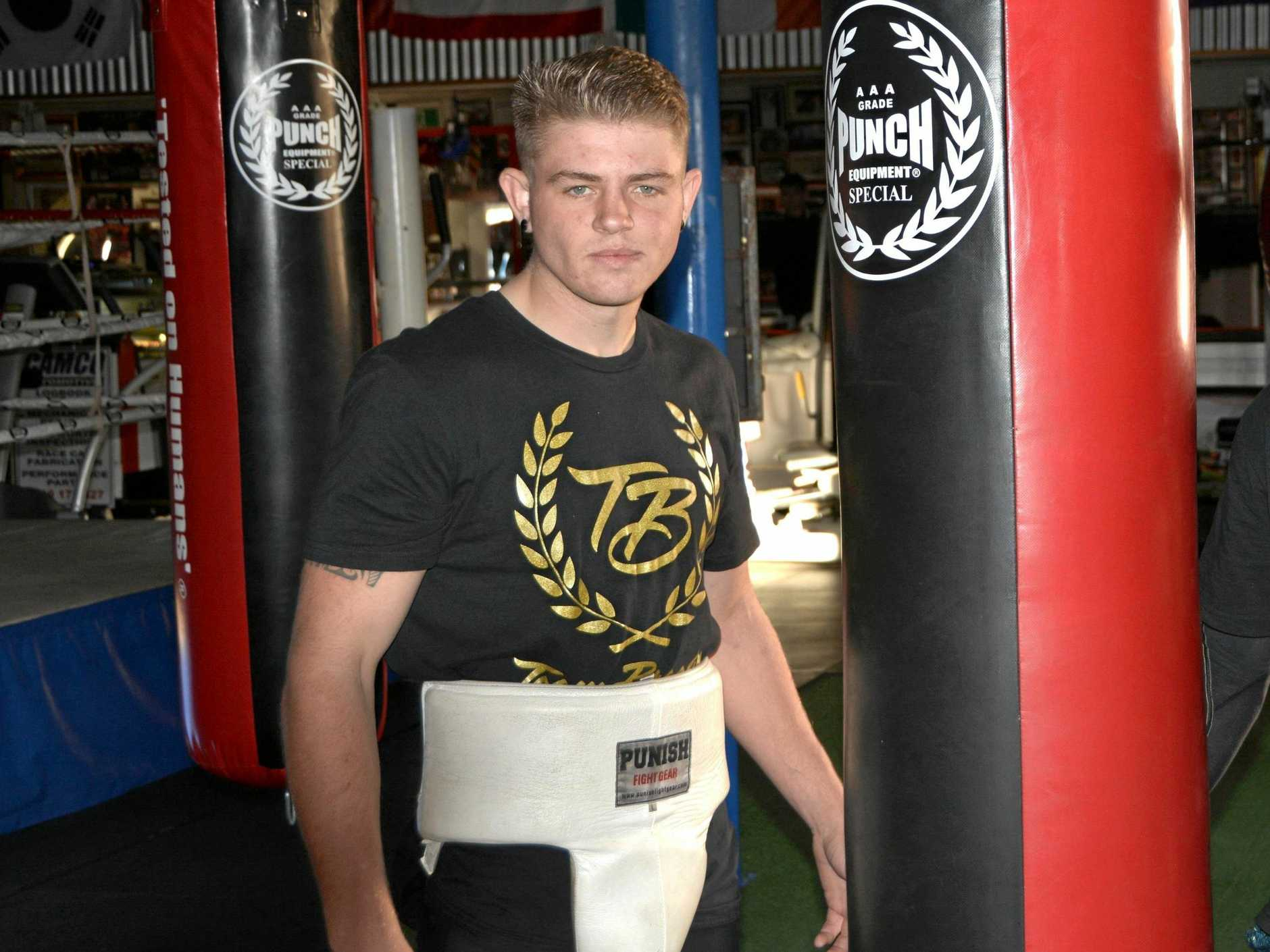 Exciting Toowoomba prospect Chris Brackin returns to the ring at Rumours International next Saturday night.
