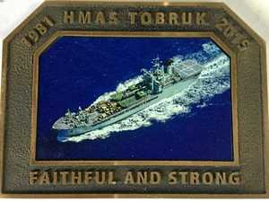 $145 Tobruk plaque offer from scuttling contractor