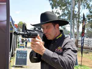 Keep an eye out for armed larrikins at the rodeo