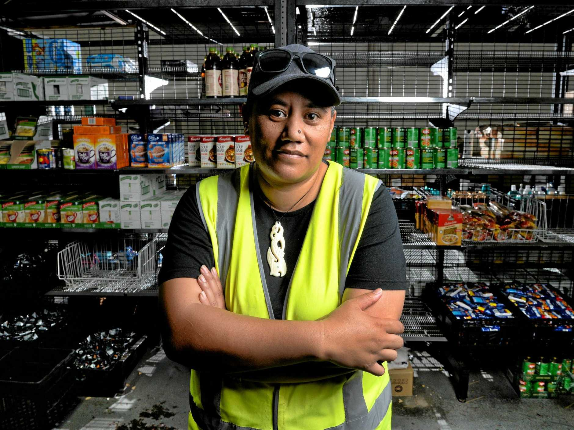 Thousands of people across Ipswich rely on Qim's efforts every month to feed themselves and their families. Qim is the manager of the Lion and the Lamb food distribution centre in Darling St. She led a rebuild of the centre last month after heartless thieves destroyed all the centre's food stock.