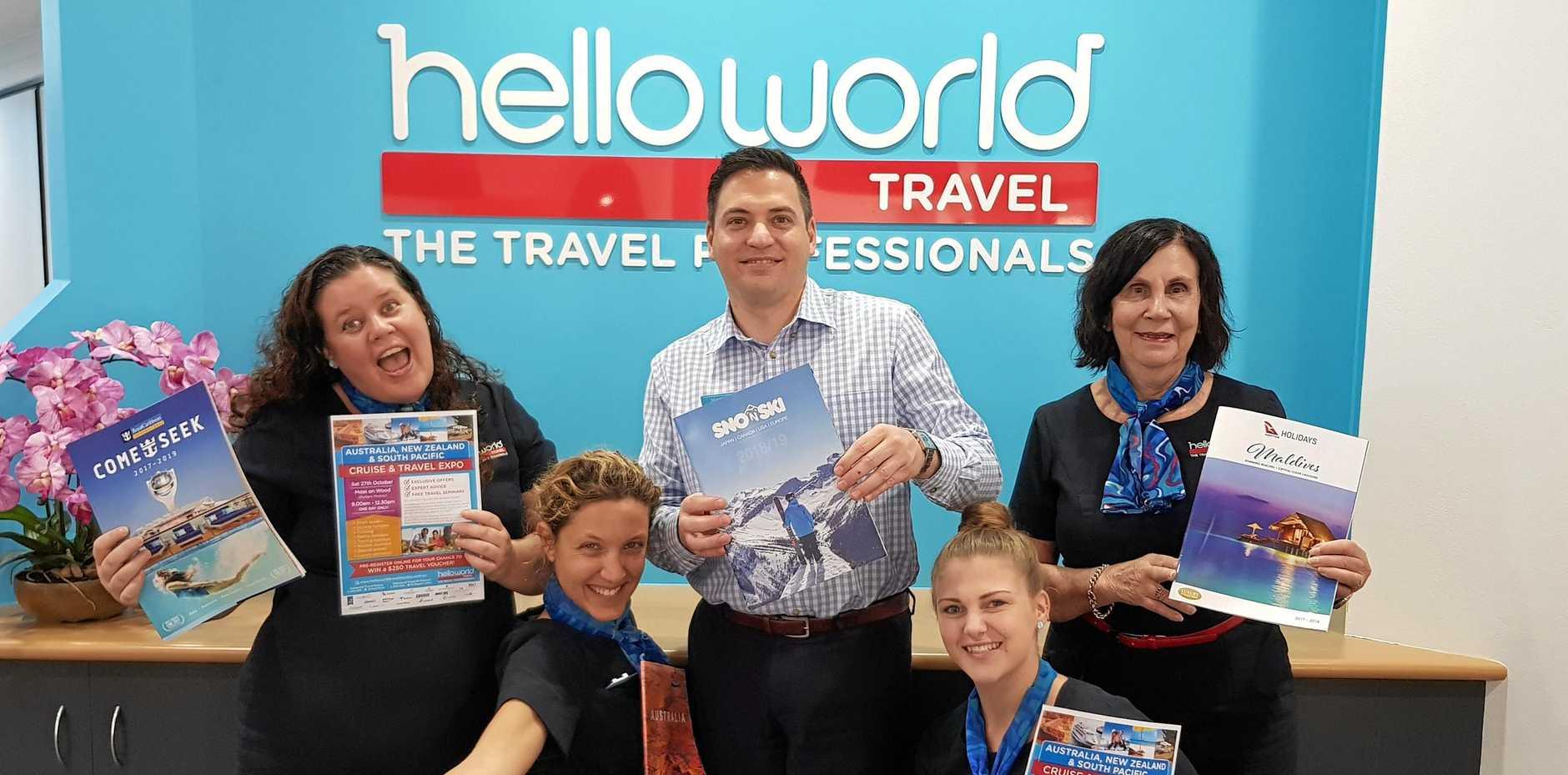The Helloworld Travel Mt Pleasant team.