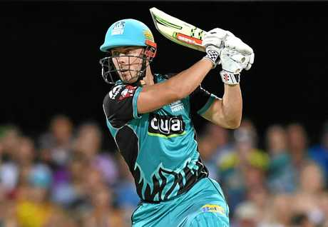 Chris Lynn gets a start in the line-up.
