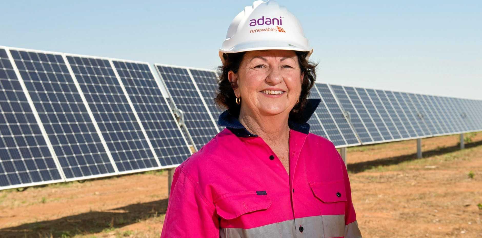 ENERGY: Isaac Regional Council Mayor Anne Baker.