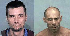 Robert Riley, 49 and Wayne Porter, 32 have been reported escaped from the minimum security correctional facility on the Gwydir Highway.