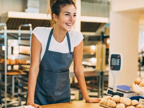 Think outside the box when choosing a part-time job to fit around studies. Picture: iStock