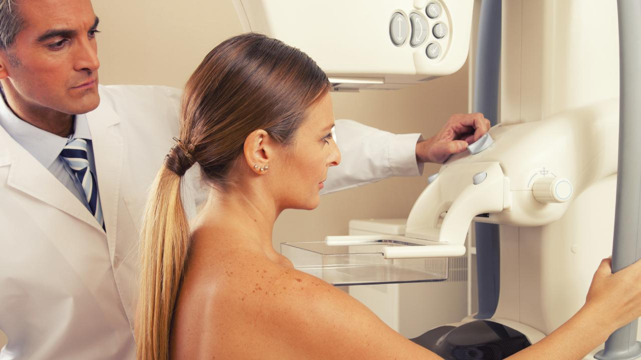 Radiation therapy uses beams of intense energy to kill cancer cells.