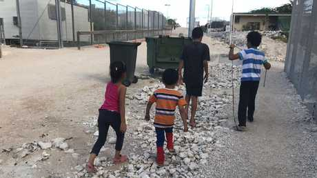 Children on Nauru.