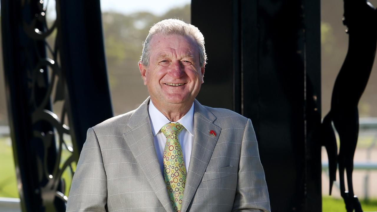 BRC Chairman Neville Bell at Eagle Farm race course in 2016. Picture: Tara Croser.