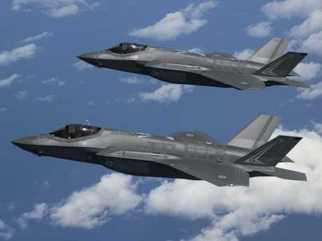 Experts warn the F-35 jet is fast becoming obsolete due to major delays in the program's rollout. Picture: ADF