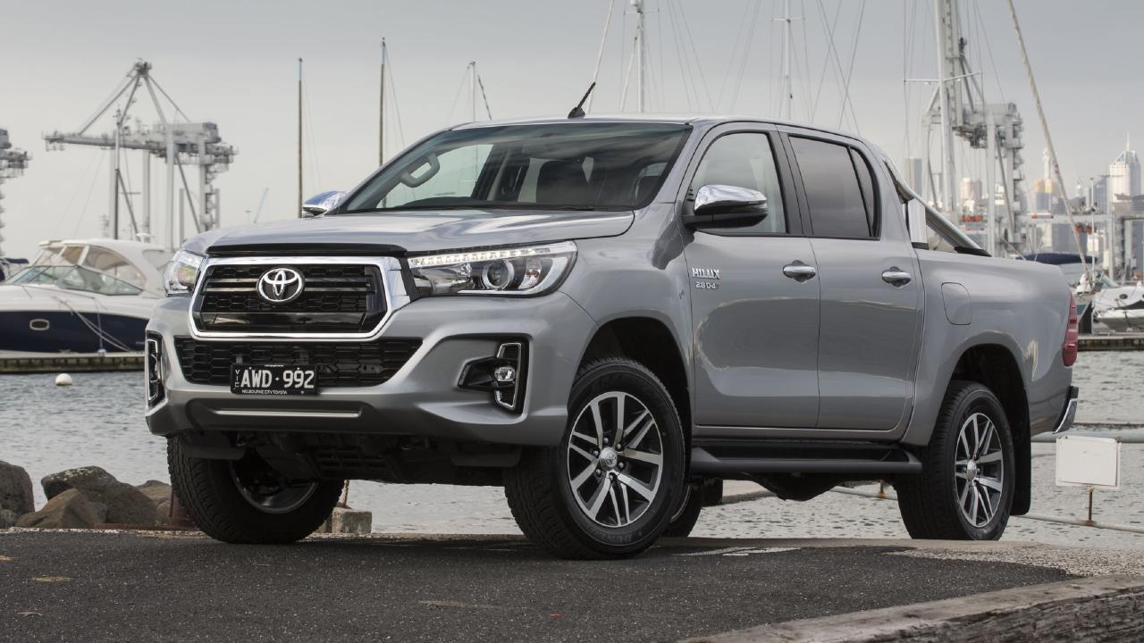 The HiLux has been updated but is still sharply priced. Picture: Supplied.