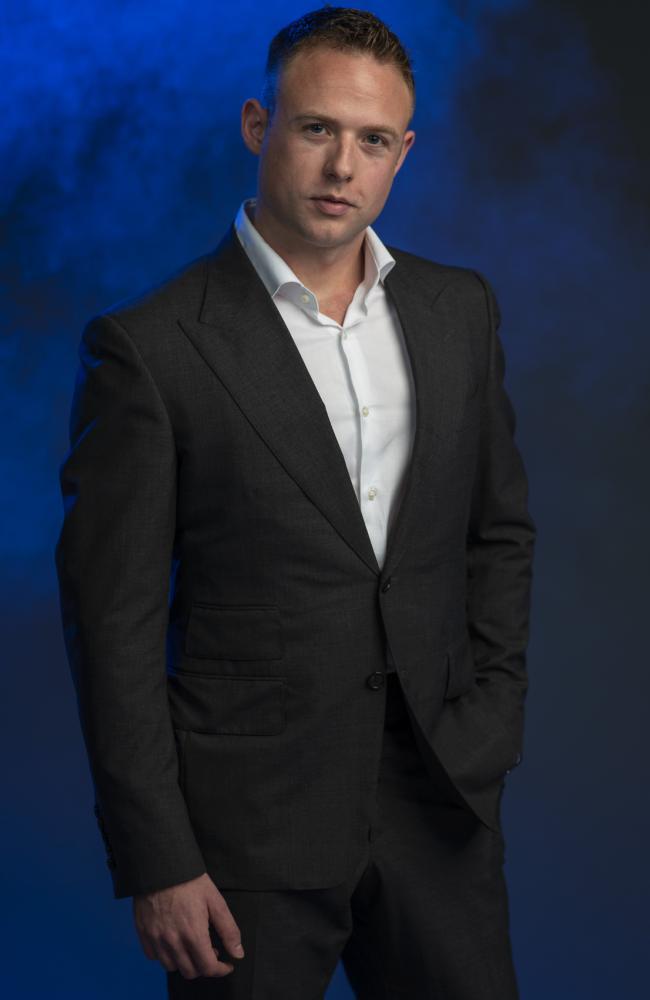 Male escort Ryan James has written a book A Memoir Of A Male Escort. Picture: Justin Lloyd