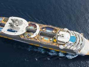 Mega cruise ships on way