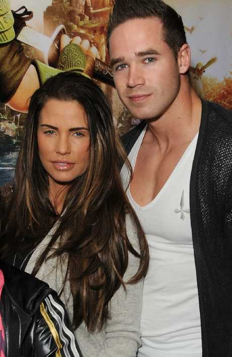 Glamour model Katie Price broke into her husband's phone and split shortly after. Picture: Getty