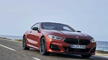 The 8 Series handles changes of direction at pace. Picture: Supplied.