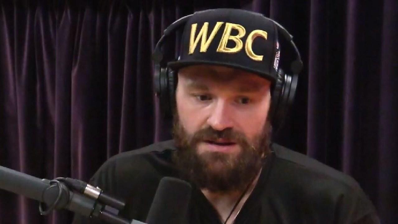 Tyson Fury has opened up on the Joe Rogan Experience.