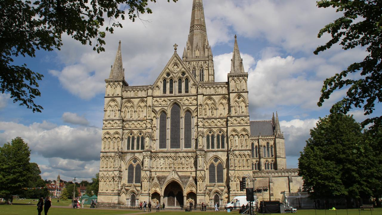 Man arrested for trying to steal the original Magna Carta from Salisbury Cathedral. Picture: Charles Miranda